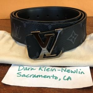 Louis Vuitton Reversible Initials Belt Sz 110